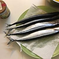 盐烤秋刀鱼--长帝焙Man CRTF32K食谱的做法图解2