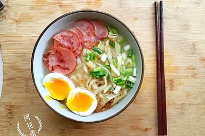 鸡蛋手擀面(简单易做)