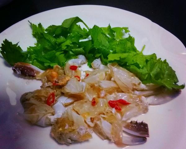 生腌梭子蟹的做法