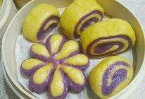 紫薯南瓜馒头的做法