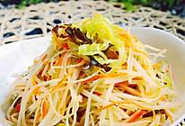 炝拌三丝——菁选酱油试用菜谱的做法