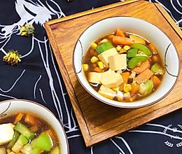 丝瓜玉米汤的做法