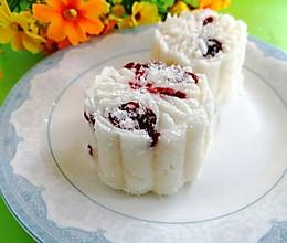 #入秋滋补正当时#蔓越莓山药糕的做法