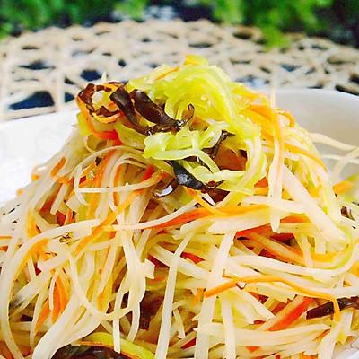 炝拌三丝——菁选酱油试用菜谱