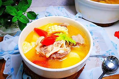 原汁原味时疏牛尾汤