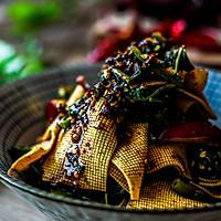 香椿拌豆皮---最有味道的凉菜的做法图解7