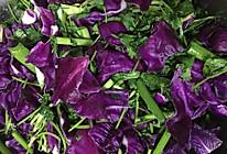 紫甘蓝咸菜的做法