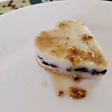 山药赤豆糕