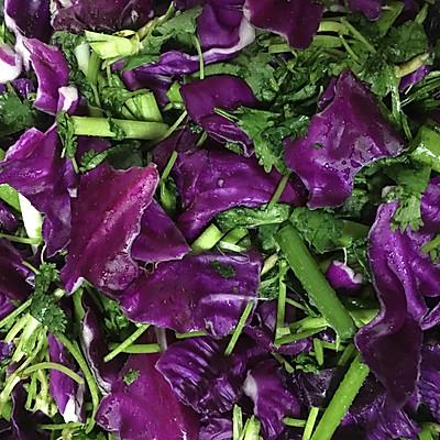 紫甘蓝咸菜