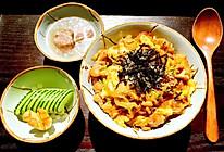 日式亲子丼(亲子饭)的做法