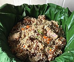 荷叶糯米排骨的做法