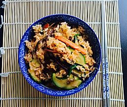 石锅素拌饭的做法