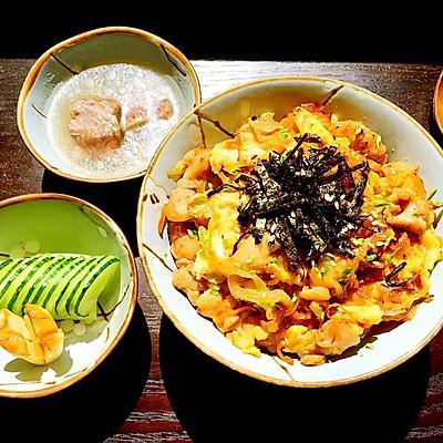 日式亲子丼(亲子饭)