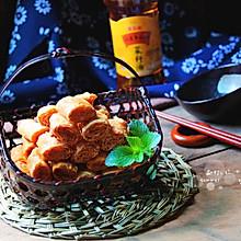 脆炸响铃#金龙鱼外婆乡小榨菜籽油 最强家乡菜#