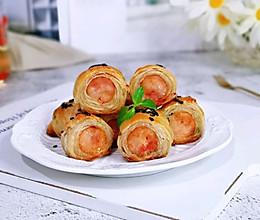 脆皮手抓饼香肠卷#快手又营养,我家的冬日必备菜品#的做法