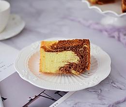 #精品菜谱挑战赛#7寸中空双色戚风蛋糕的做法