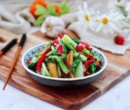 #相聚组个局#小白菜素炒香干的做法
