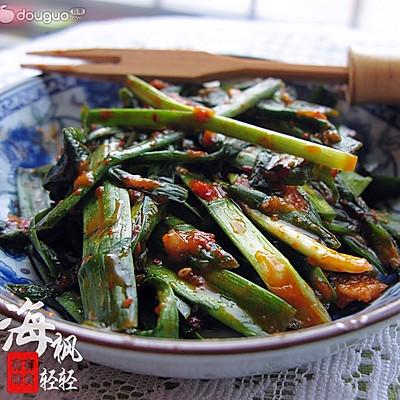 春天的养生小菜--朝式拌韭菜