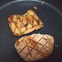 蒜烤猪排——利仁电火锅试用菜谱之煎的做法图解5