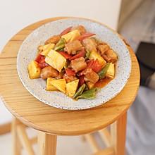 #520,美食撩动TA的心!#菠萝咕唠肉