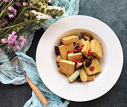 豆腐烧香菇#秋天怎么吃#的做法