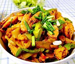 干锅鱿鱼虾~不懂烹饪也会做!的做法