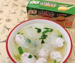 """#""""佳""""节好滋味#冬瓜丸子汤的做法"""