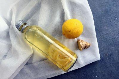 淋巴排毒特饮—柠檬姜茶