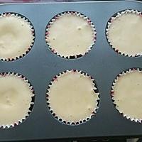 不回缩杯子蛋糕——紫薯泥版的做法图解6