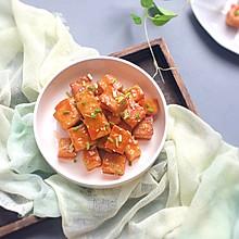 糖醋脆皮豆腐块 做法就是这么简单