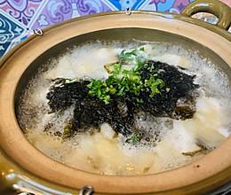 鸡汤鲜肉鲜虾馄饨的做法