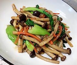 素炒蟹味菇的做法