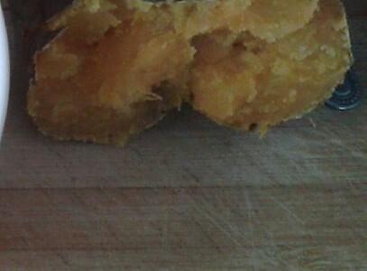 微波炉版烤地瓜的做法