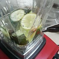 黄瓜柠檬汁的做法图解2
