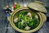 冬瓜小白菜丸子汤#厨此之外,锦享美味#的做法
