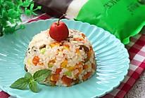 香甜水果饭#靓禾新米试吃#的做法