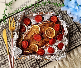 柠檬香烤龙利鱼#非常规创意吃鱼法#的做法