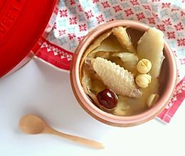 潮热难耐,来碗养胃生津的老火汤——沙参玉竹煲老鸡的做法