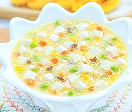 蛋黄豆腐煲的做法