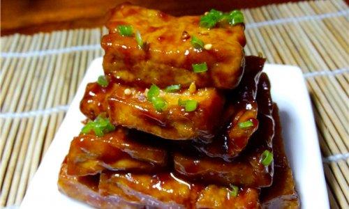 糖醋脆皮豆腐的做法