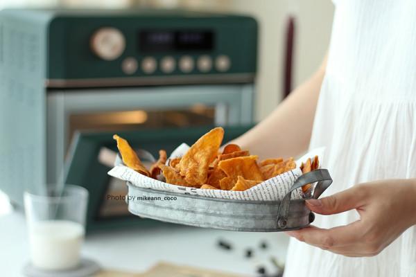 非油炸,健康低脂香甜脆红薯片的做法