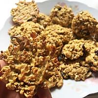 低糖无脂燕麦饼干 减肥零食的做法图解5