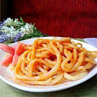 看《舌尖》,吃拉面:意大利面酱拌拉面的做法图解11