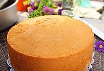 【烘焙门槛】八寸戚风蛋糕#自己做更健康#的做法