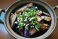 霉香咸鱼茄子煲的做法