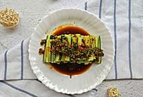 凉拌黄瓜条#做道懒人菜,轻松享假期#的做法
