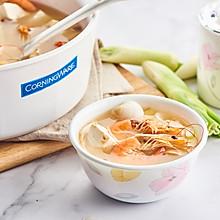 海鲜味噌汤——无一滴油,营养减肥的上上之选!