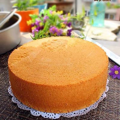 【烘焙门槛】八寸戚风蛋糕