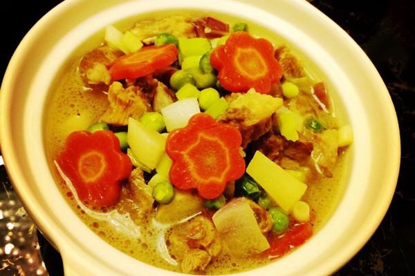 豌豆焖排骨—简单营养均衡的做法