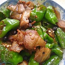#夏日撩人滋味#农家小炒肉,青椒炒肉